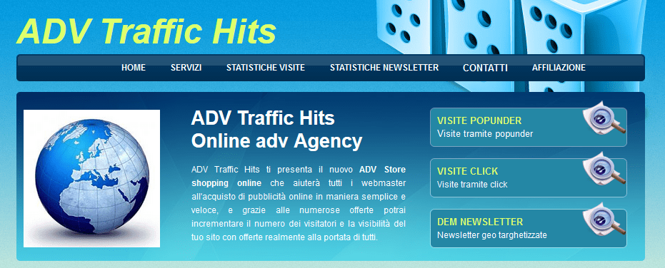 Adv Traffic Hits