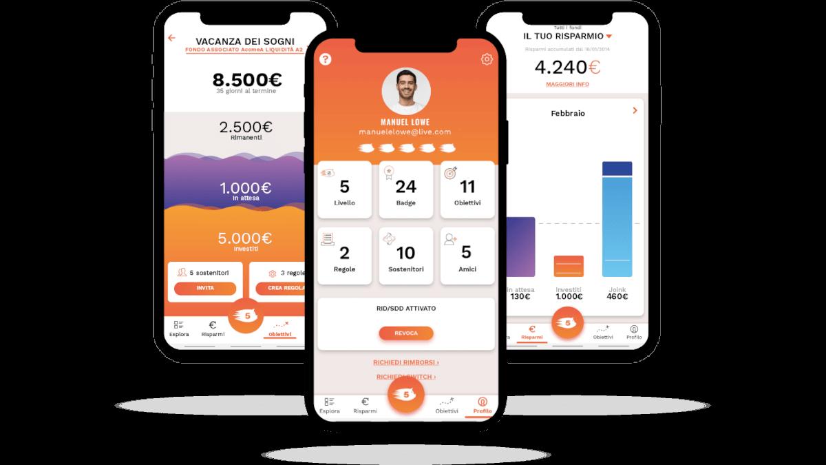 Gimme5 app per risparmiare e investire online